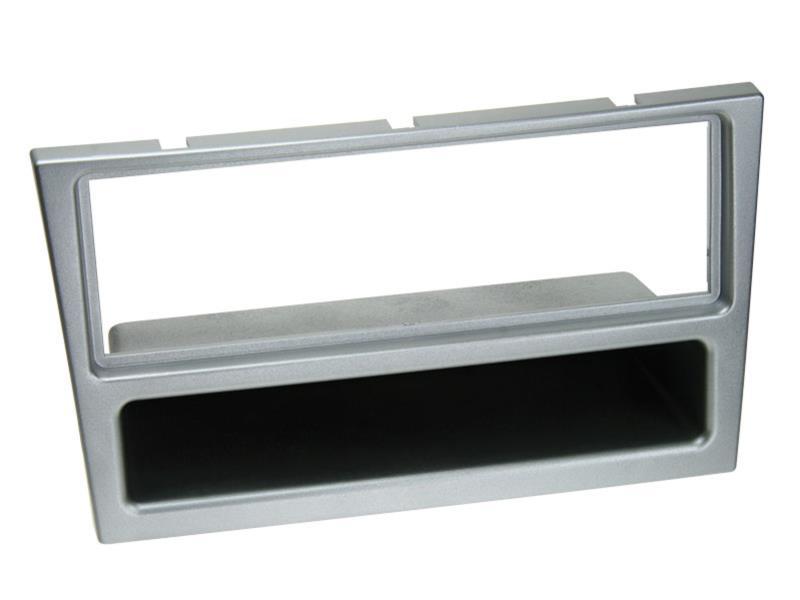 ACV 281230-26-3 1-DIN facia plate with pocket Opel matt chrome