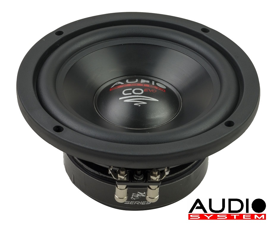 Audio System CO 06 DC CO-SERIES 165 mm HIGH EFFICIENT WOOFER Subwoofer 16,5cm 150 Watt RMS Doppel-Schwingspulen-Subwoofer