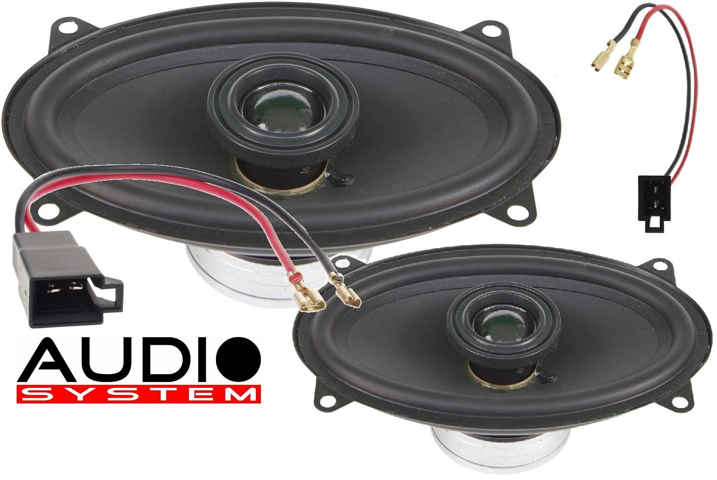 Audio System XCFIT SEAT CORDOBA EVO Lautsprecher X-SERIES 4x6 Neodym Spezial Coaxial System CORDOBA 1 Paar