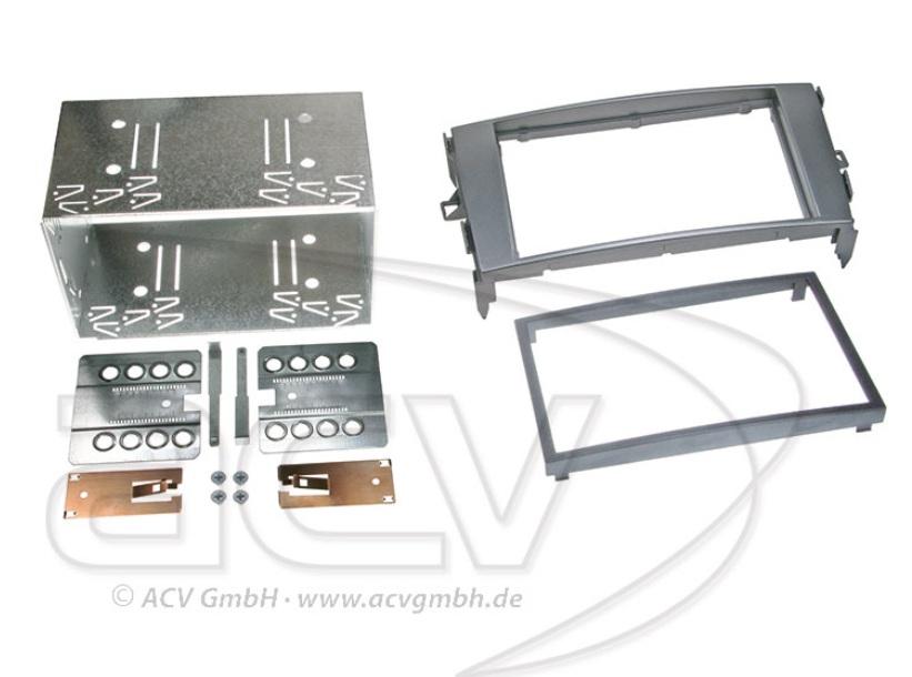 ACV 381300-13-1 2-DIN Radioblende Toyota Auris (E1) 03/2007-->