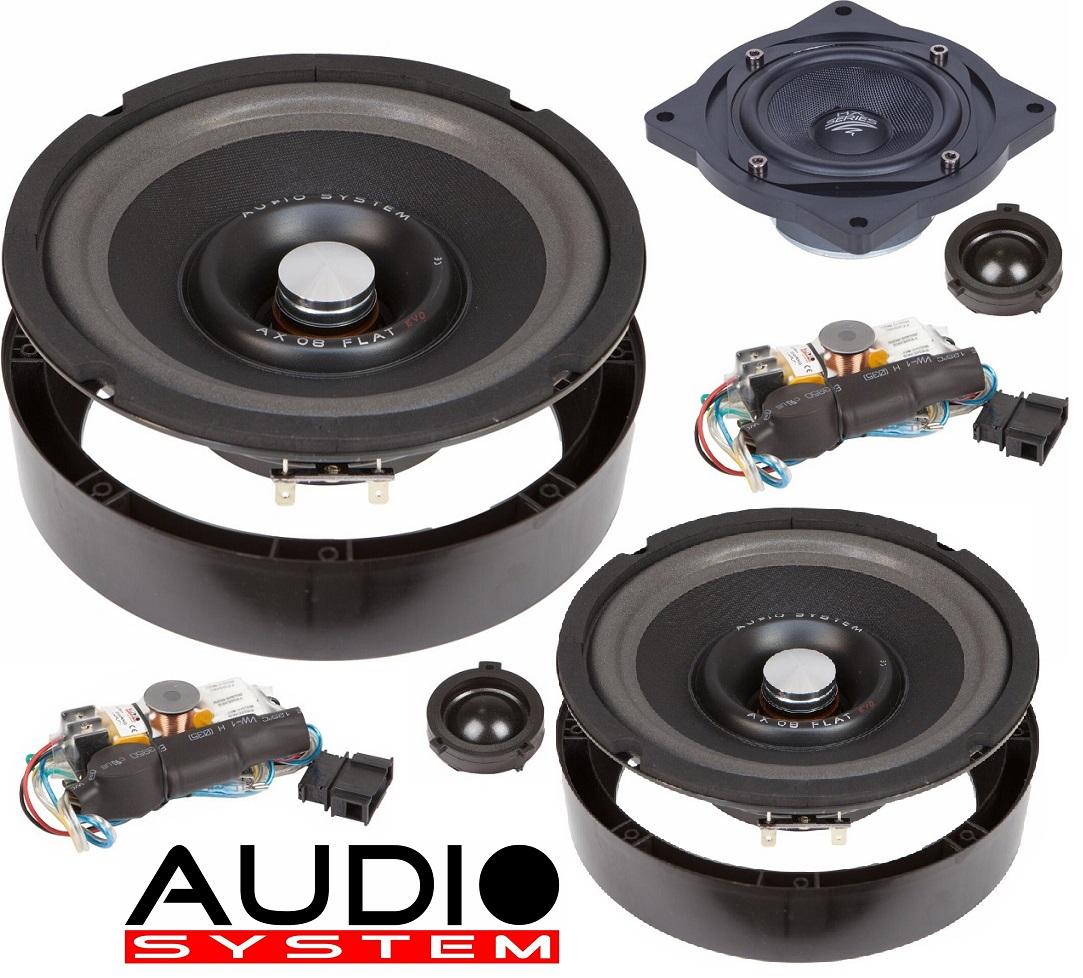Audio System X 200 GOLF V EVO 2 - 3-Wege 20cm GOLF V Compo System Lautsprecher