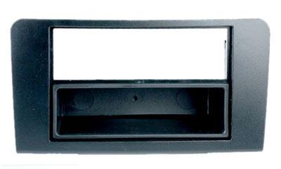RTA 001.065-0 2 - DIN Telaio di montaggio, Nero ABS