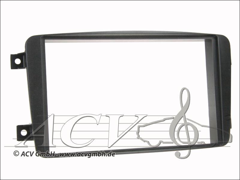 ACV 281190-05 Doppel DIN Radioblende Mercedes C-Klasse / CLK  schwarz