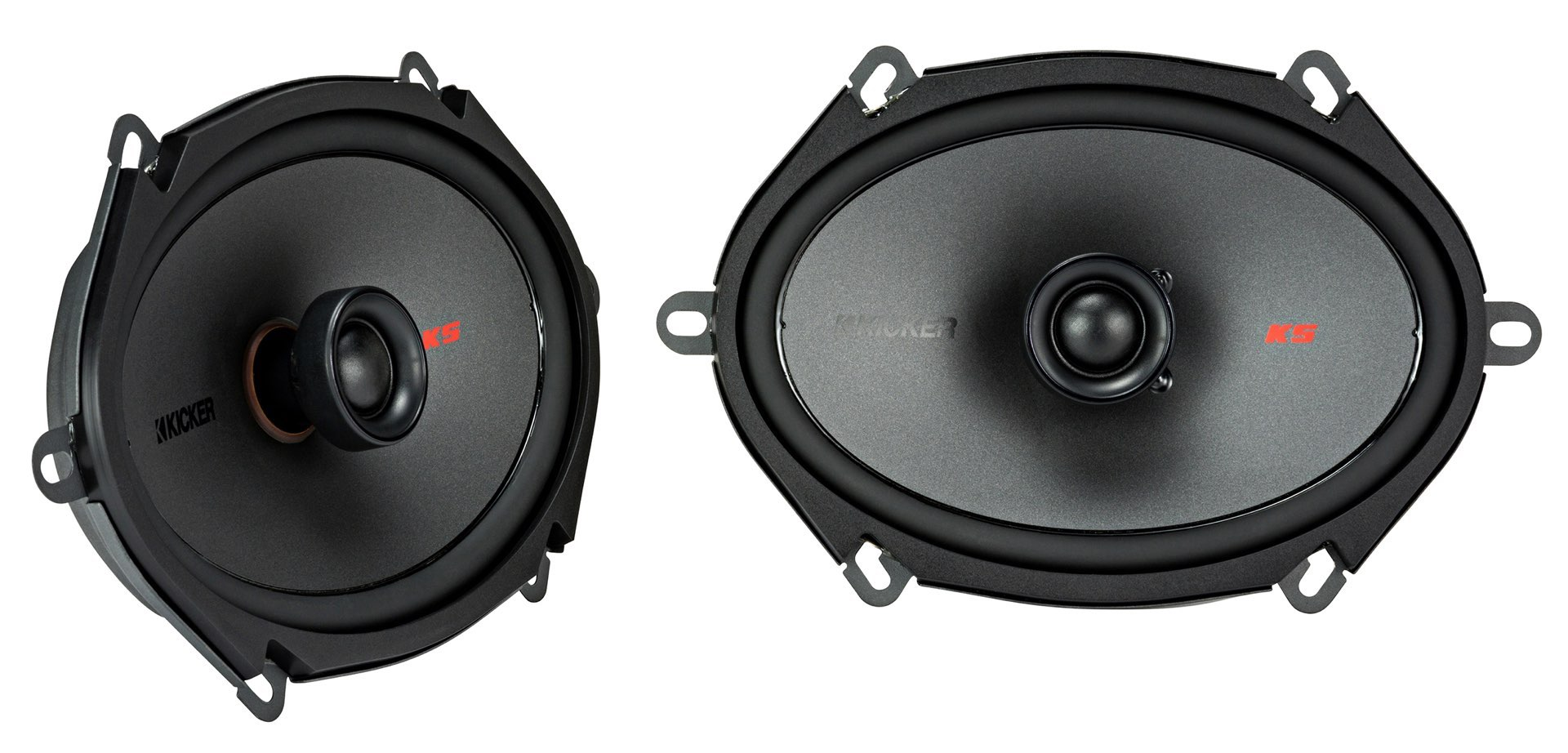 """KICKER KSC680 (KSC6804) 6x8"""" 2-Wege Koaxial-Lautsprecher Paar, 150 Watt"""