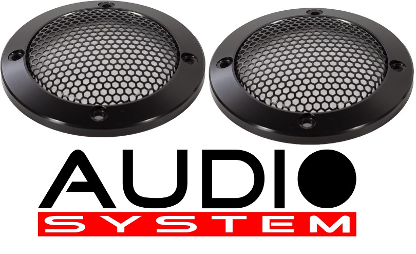 AUDIO SYSTEM GI 80 AV Aluminium-Lautsprechergitter 80mm AVALANCHE-SERIES 1 Paar