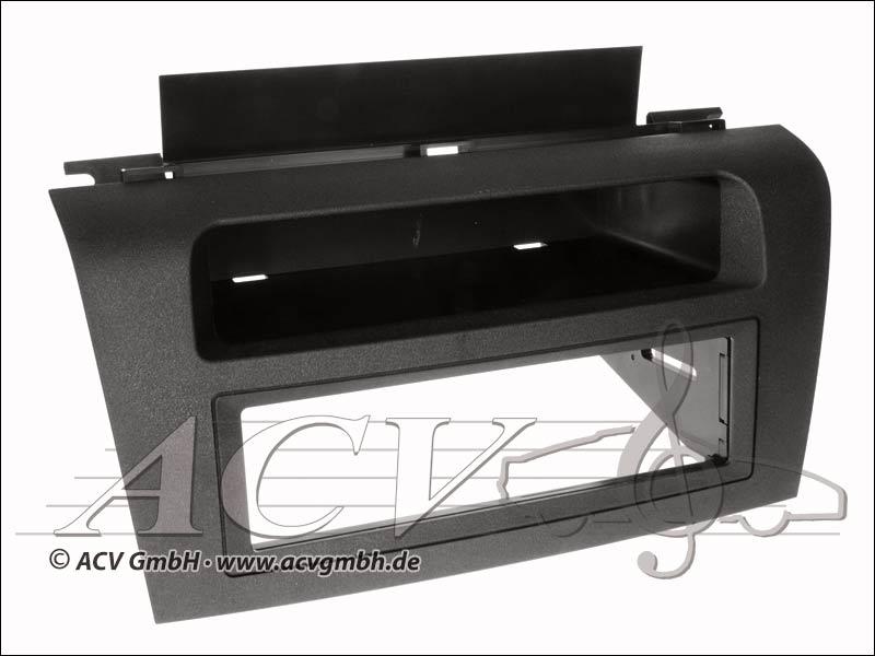 ACV 281170-02 Radioblende Mazda 3 black