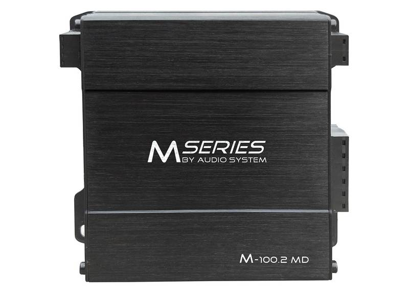 Audio System M-100.2 MD M-SERIES 2-Kanal MIKRO-Digital-Endstufe Amplifier 300 Watt RMS