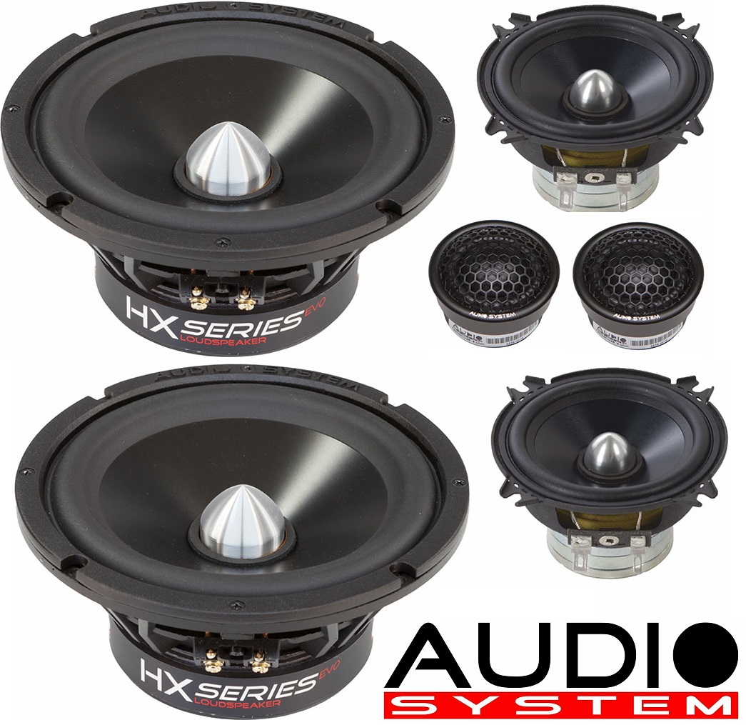 Audio System HX 165 PHASE 3-WAY EVO 2 HX SERIES Vollaktiv