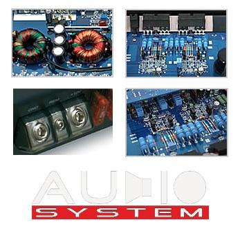 Audio System Xion X 165.4 X-SERIES 4-canaux X-ion X165.4