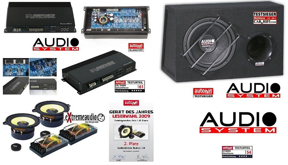 Audio System RADION SERIES Set RADION 10 + R90.4 + Radion 130
