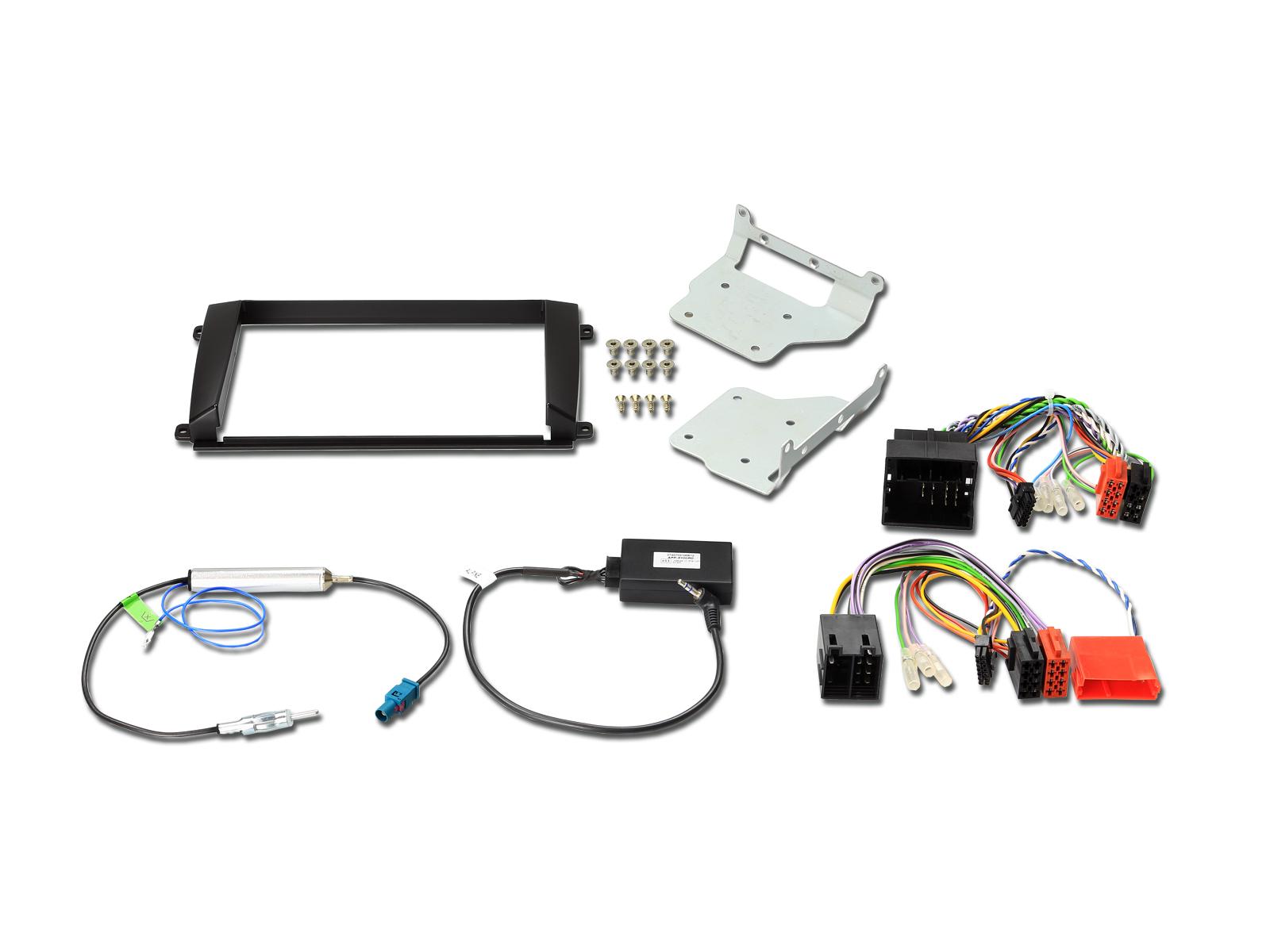 Alpine KIT-8CYE Einbauset für X800D-U und INE-W928R Porsche Cayenne Installations-Set