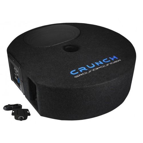 Crunch GP690 GROUNDPOUNDER Active Subwoofer System Reserveradwoofer Kundenrückläufer