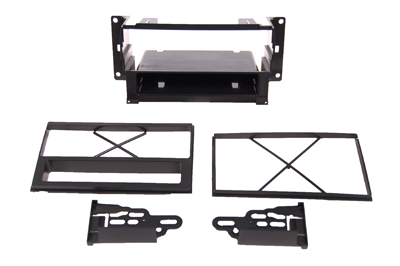 RTA 002.570-0 Multi-frame mounting kit with storage compartment, ABS black version