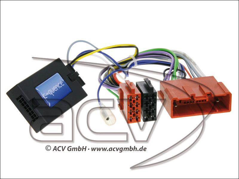 ACV 42-MZ-109 Wheel Adapter Mazda CX-7 - nessuno di Bose-> Alpine
