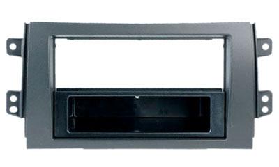 RTA 000.434-0 1 - DIN montaggio telaio, in ABS nero