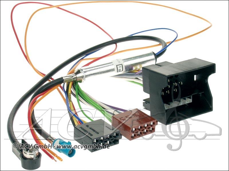 ACV 1230-45 Opel ISO Antenna adapter with phantom power