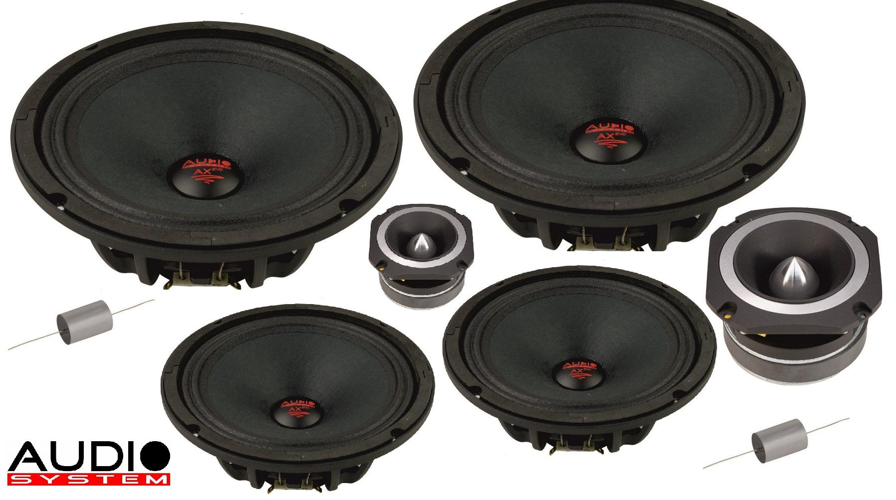 Audio System H 200 PA-4 Helon SERIES PA 20cm 2-Wege NEO Doppelkomposystem 1600 Watt