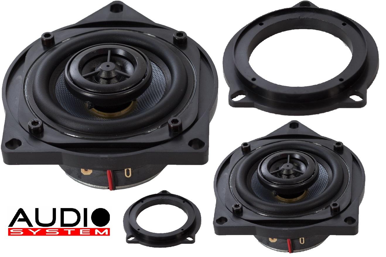 Audio System CO 80 BMW für BMW E und F Modelle CO80BMW 1 Paar Für BMW E60,61,81,82,84,87,88,90,91,92,F20/21/25/30/31/35