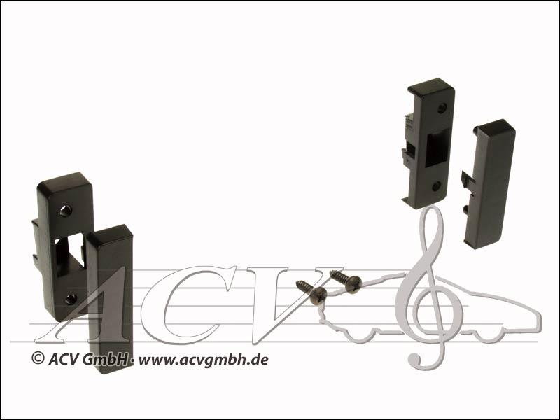 ACV 281320-02 1-DIN Radioblende Audi A3 8L 1996-> schwarz