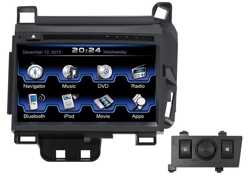 ESX VN710-LX-CT200H-DAB Navigation mit DAB Tuner für Lexus CT200h (2010>)