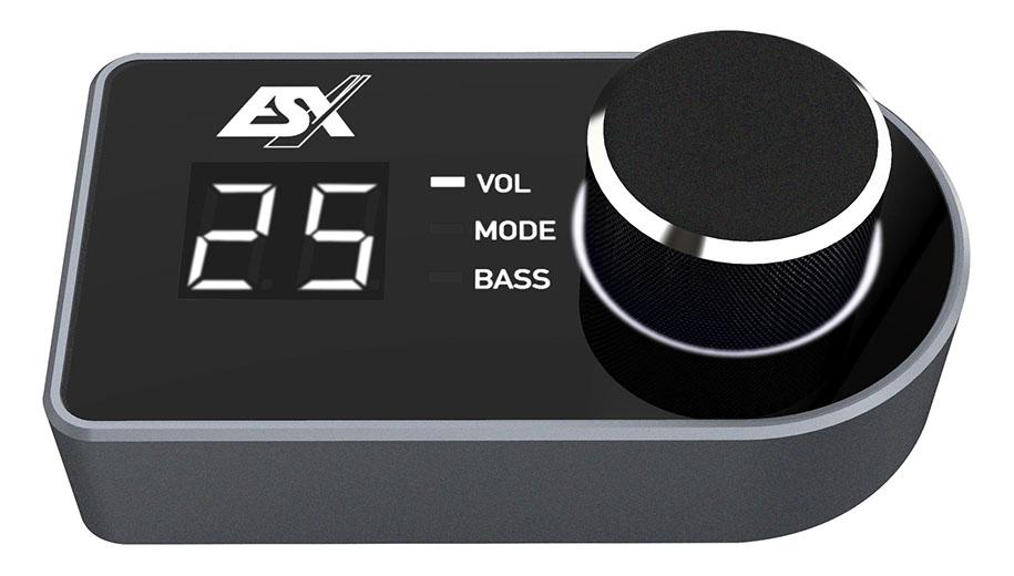 ESX RC-DQ LCD-Fernbedienung für ESX DIRECTION D68SP und D66SP Remote Control