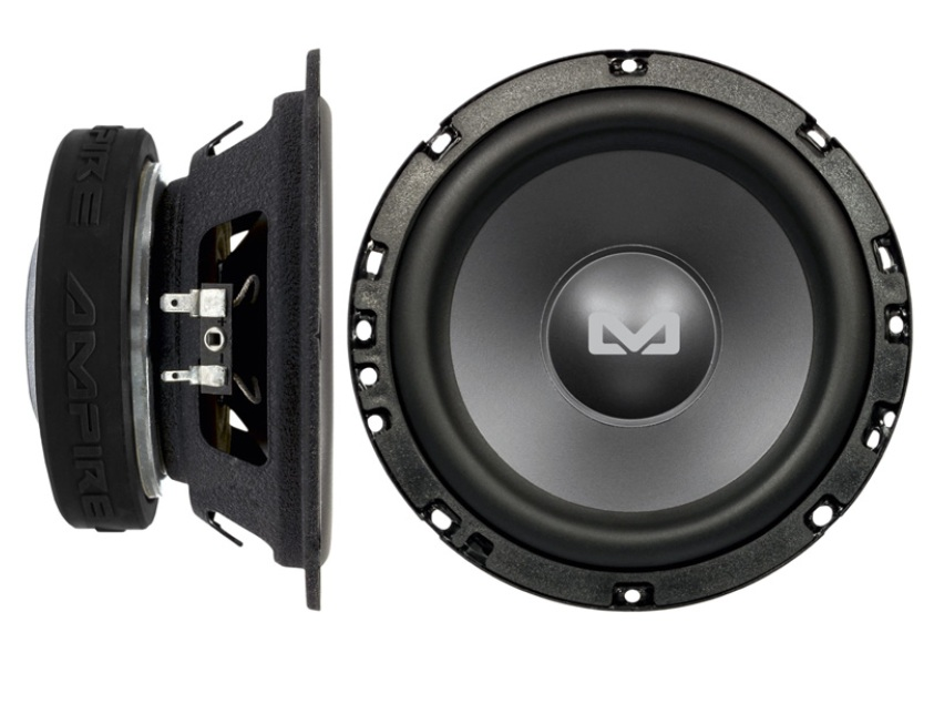 AMPIRE BOLD6 Subwoofer, 16,5cm/6,5'', 4 + 4 Ohm, 250 Watt