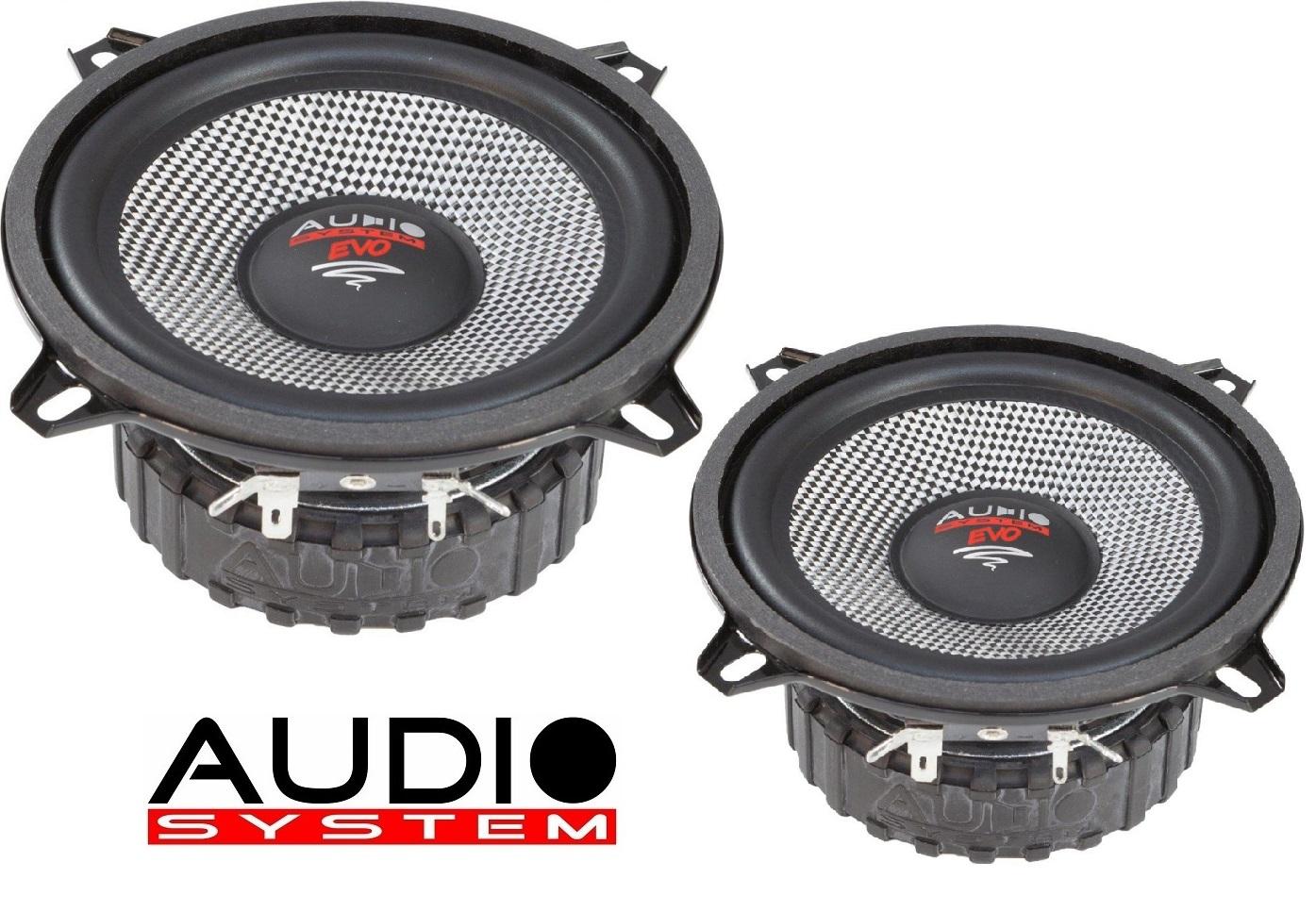 AUDIO SYSTEM AS 130 EM EVO Kick / Mitteltöner 125 Watt 1 Paar