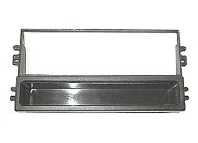 RTA  000.400-0 1 - DIN mounting frame, black ABS