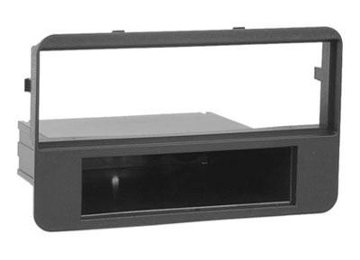 RTA 000.316-0 1 - DIN montaggio telaio, in ABS nero