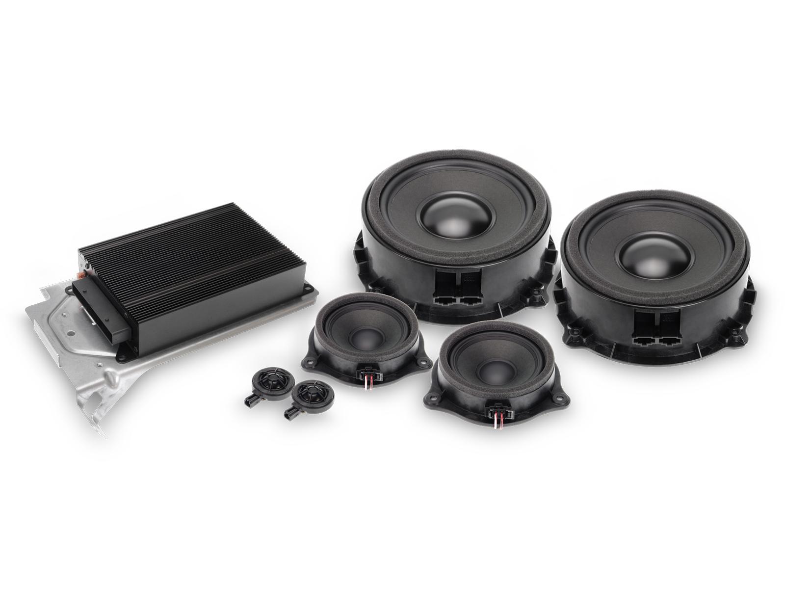 Alpine SPC-400TT Premium Austausch-Lautsprechersystem 3-Wege für Audi TT (8J)