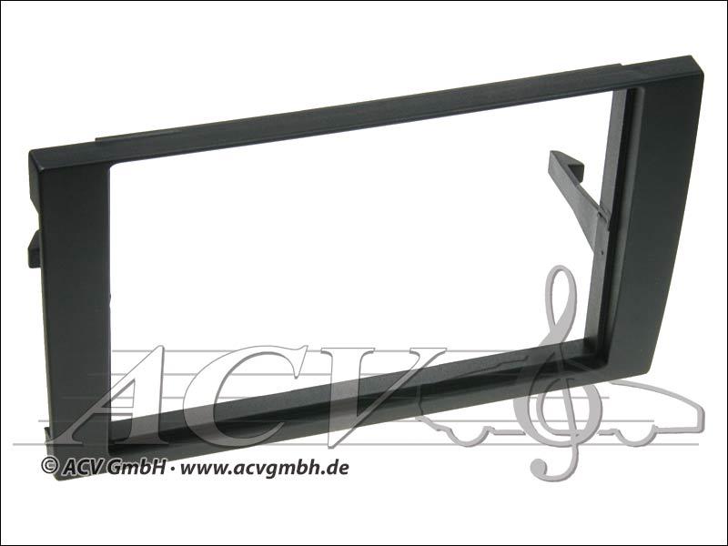 Audi A4 double lunette DIN radio noire