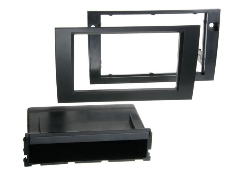ACV 291320-12-1 RT 2-DIN RB avec compartiment Audi A4 / noir Seat Exeo