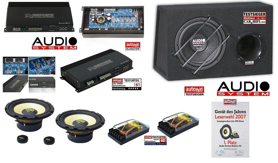 Audio System RADION SERIES Set RADION 10 + R90.4 + Radion 165