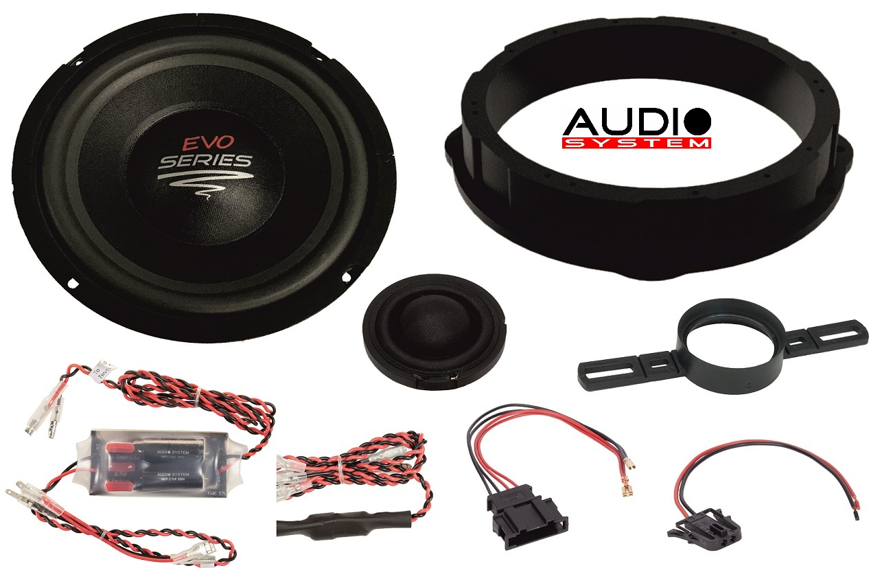 Audio System MFIT VW T5 EVO 2 Lautsprecher VW T5, TIGUAN 2-Wege Front System