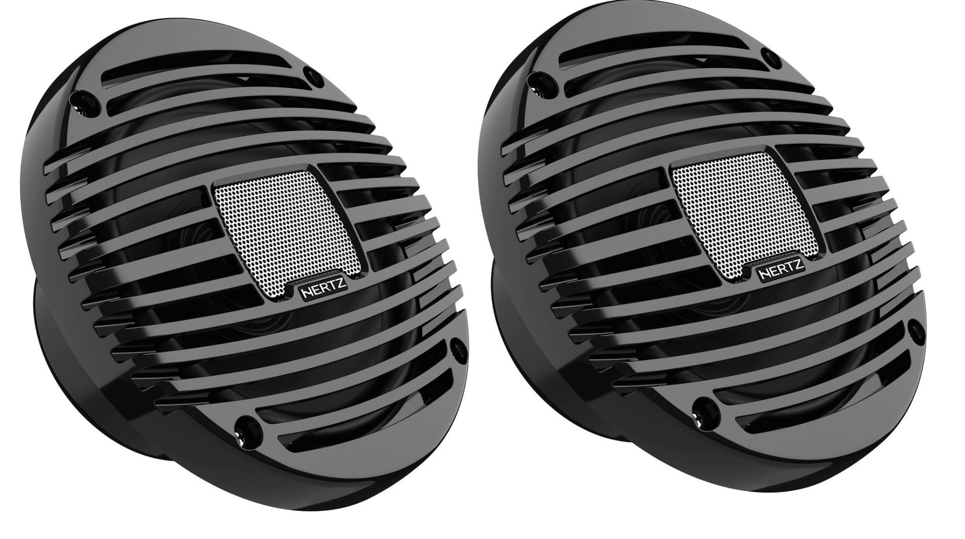 """Hertz HEX 6.5 M-C MARINE 6.5"""" COAX SET- CHARCOAL Marine/ Outdoor Lautsprecher 1 Paar 16,5cm"""