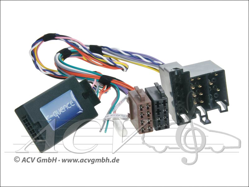 42-MC-403 CAN-Bus direction adaptateur de roue Mercedes Mini ISO -> Zenec