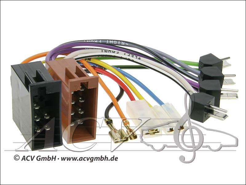ACV 1320-04 Universal modernisation pouvoir kits et haut-parleurs