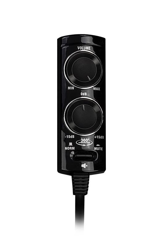 AXTON A592DSP-RC Bass Level Remote Control mit Kabel Fernbedienung passend für die Axton DSP Verstärker A542DSP und A592DSP