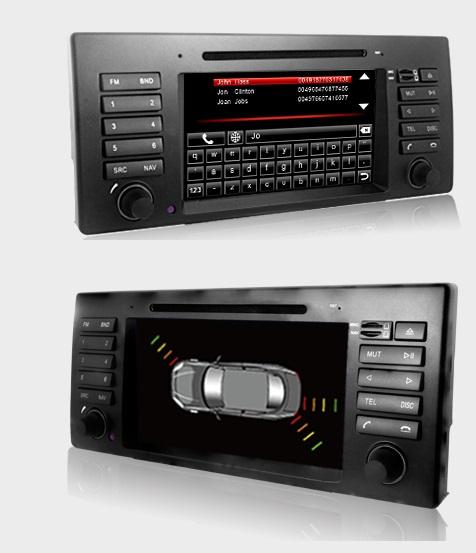Dynavin DVN-E39 Pro Navigation N7 Plattform für BMW 5er (E39) 12/1995 - 2004 + Navigationssoftware