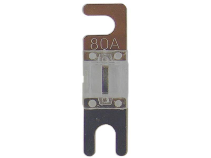 ACV 30.3940-80 Mini ANL fuse 80 Ampere ( silver ) 4 pieces
