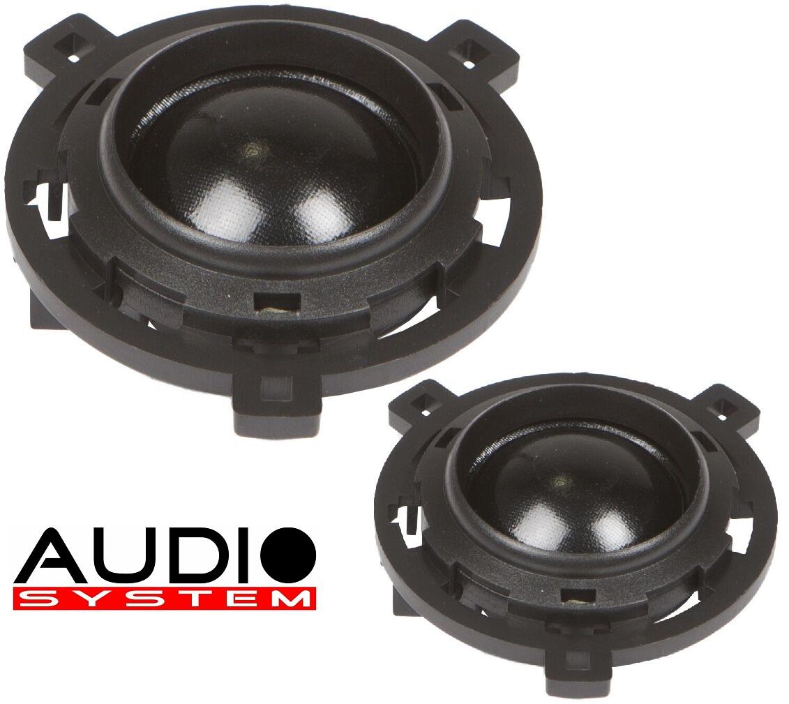 Audio System HS 24 GOLF 6+7 EVO 2 Hochtöner VW Golf 6+7, Scirroco 1 Paar Hochtöner Tweeter
