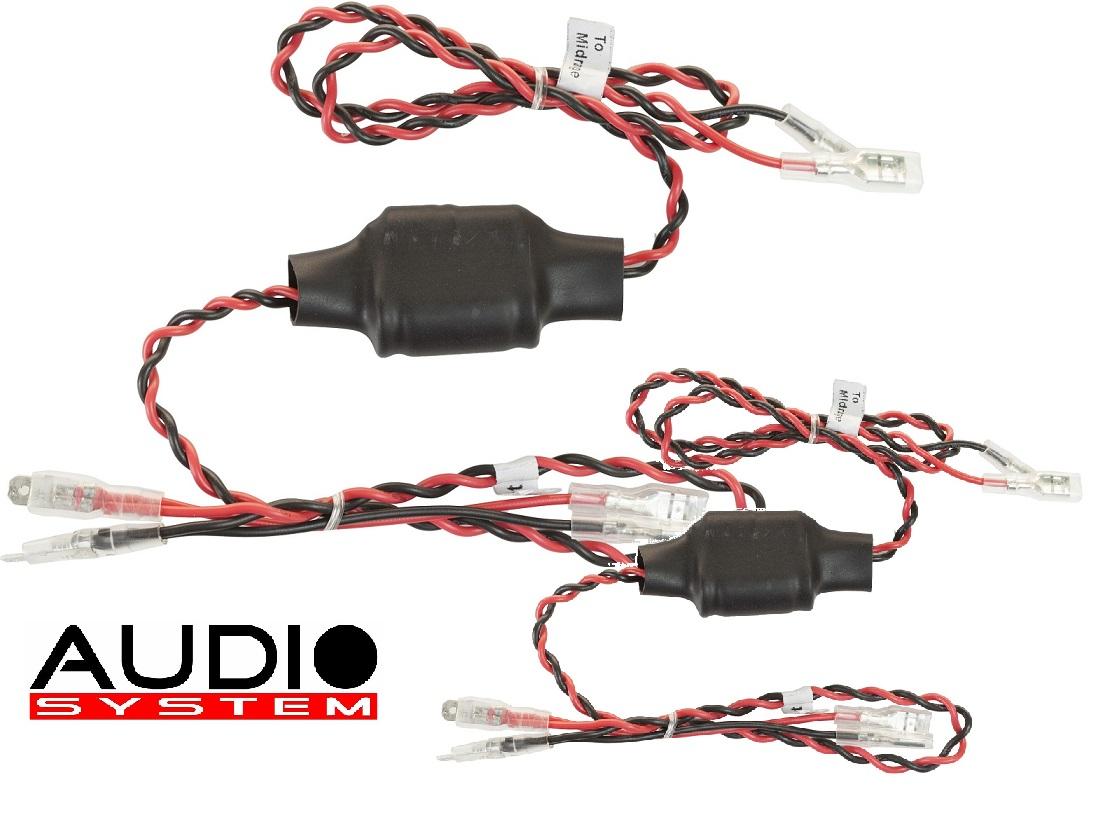 AUDIO SYSTEM FWK MID Frequenzweichen / Crossover 1 Paar (2 Stück) Kabelweiche