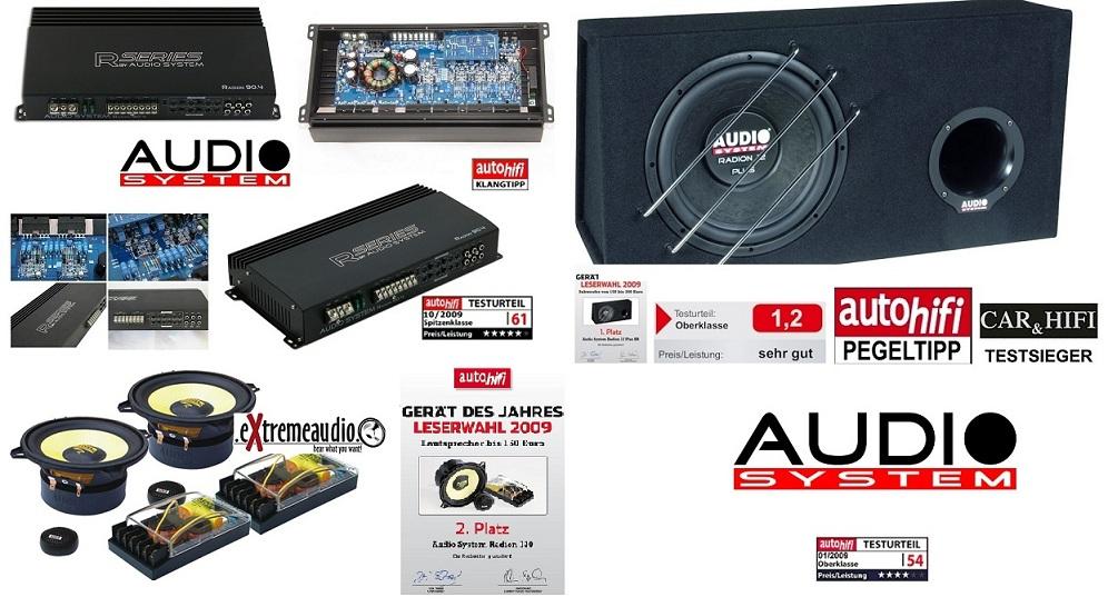 Audio System RADION SERIES Set RADION 12 + R90.4 + Radion 130