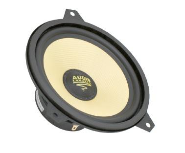 Audio System AS 165 E46 Tief-Mitteltöner für BMW E46