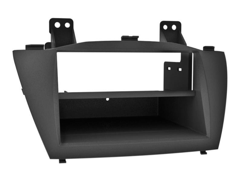ACV 281143-35 2-DIN facia plate with pocket Hyundai IX35 2010 > black