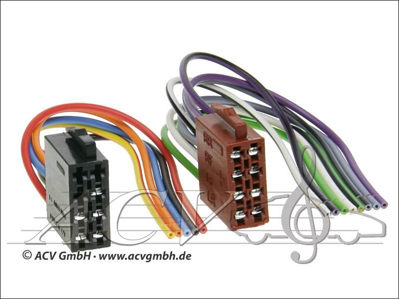 ACV 1432-02 Universal modernisation pouvoir kits et haut-parleurs