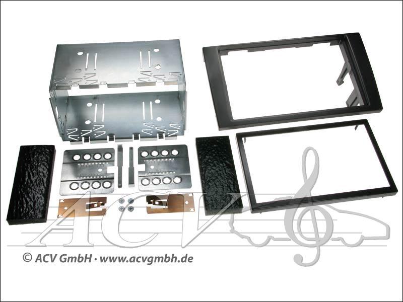Double-DIN installation du kit Audi A4 2002 -> avec la Symphonie Radio