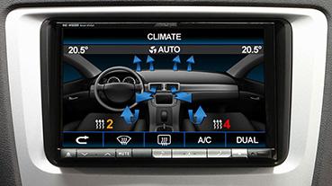 ACV 43uvw01 Lenkradfernbedienungsadapter für VW ab 2009 unterstützt Klimaanlage Parksensoren Sitzheizung