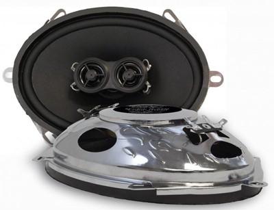 "Ampire R-573N RETRO haut-parleurs 5 ""x7"", 127x178mm (paire)"