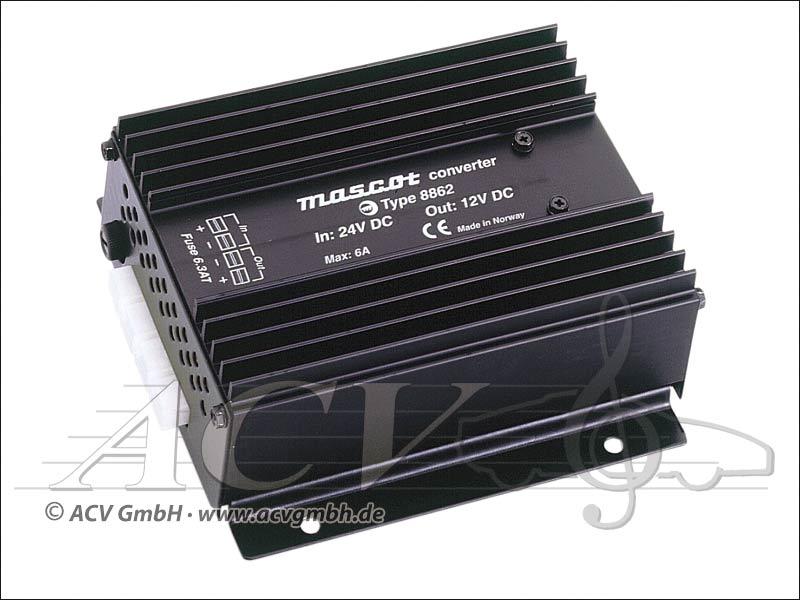 ACV 30.3520-01 Spannungswandler 24 V auf 12 V